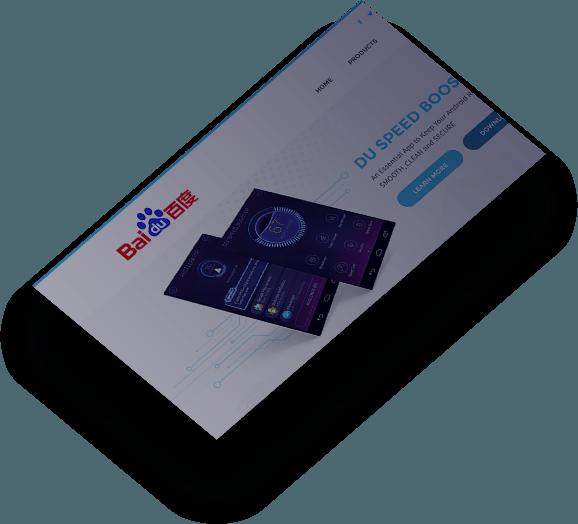 baidu web design